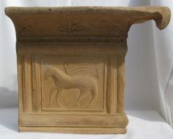 Foto 3 Renaissance-Kachelofen mit Pegasus