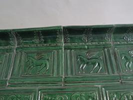 Foto 4 Renaissance-Kachelofen mit Pegasus