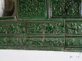 Foto 5 Renaissance-Kachelofen mit Pegasus