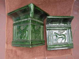Foto 9 Renaissance-Kachelofen mit Pegasus
