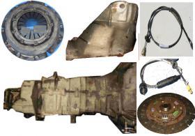 Renault Espace J63 , Getriebe – Getriebehalterung, Druckplatte, Druckscheibe, Getriebe, Tachowelle