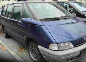 Renault Espace - Scheinwerfer, Bremslicht, Aussenspiegel, Blinker, Tür