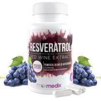 Resveratrol Rotwein Extrakt Kapseln Fitness Gesundheit