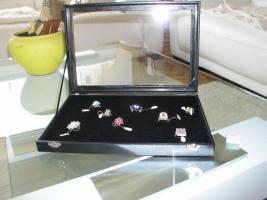 Foto 3 Ringbox für 25-100 Ringe, Ring Box, Ringkasten, Ringetui