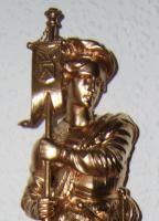 Foto 5 Ritterfigur aus Metall