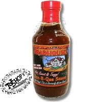 Foto 2 Roadhouse Hot Sweet Tangy Barbecue BBQ Sauce NIX FUER AMATUERE ! 510g