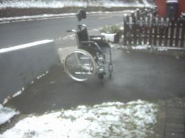 Foto 2 Rollstuhl mit oder ohne Kopfstürze