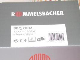 Foto 2 Rommelsbacher Tischgrill BBQ2002 NEU OVP