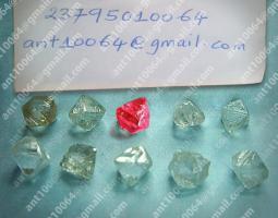 Rote und Weiße Rohdiamanten zum Verkauf