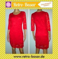 Rotes Etui Stretch Kleid / 23€ VERSANDKOSTENFREI!