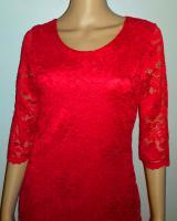Foto 5 Rotes Etui Stretch Kleid / 23€ VERSANDKOSTENFREI!