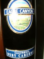 Foto 2 Rotwein Ruby Cabernet Eagle Canyon aus California