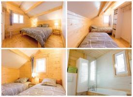 Foto 3 Ruhiges Holzhaus Natur pur ohne Nachbar, Fischteich