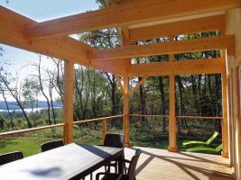 Foto 7 Ruhiges Holzhaus Natur pur ohne Nachbar, Fischteich