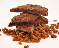 Rum - Rosinen Cookies