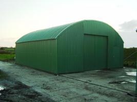 Runddachhalle Rundbogenhalle Stahlhalle Stahlkonstruktion Garage