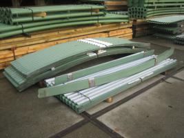 Foto 6 Runddachhalle Rundbogenhalle Stahlhalle Stahlkonstruktion Garage