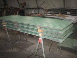 Foto 9 Runddachhalle Rundbogenhalle Stahlhalle Stahlkonstruktion Garage