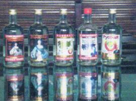 Russkaya 0,45l und Starorusskaya 0,45l - Vodka 40% alc. Sonderposten