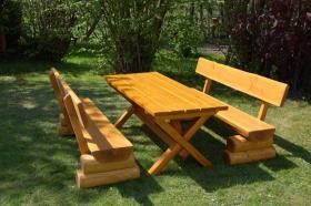 Rustikale Gartentische Banke Aus Holzstammen I0607 In Monchhagen