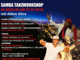 Foto 2 SAMBA NO PE TANZWORKSHOPS IN BERLIN AM 08. JUNII 2019