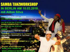 Foto 3 SAMBA NO PE TANZWORKSHOPS IN BERLIN AM 08. JUNII 2019
