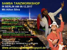 Foto 4 SAMBA NO PE TANZWORKSHOPS IN BERLIN AM 08. JUNII 2019