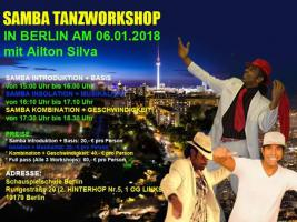Foto 5 SAMBA NO PE TANZWORKSHOPS IN BERLIN AM 08. JUNII 2019