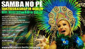 Foto 8 SAMBA NO PE TANZWORKSHOPS IN BERLIN AM 08. JUNII 2019
