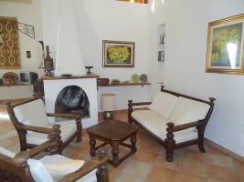 Kaminbereich im Wohnzimmer