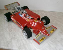 SG Futura 1:8 2WD 1978 Gilles Villeneuve Ferrari 126CK V6 tc 1981