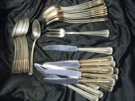 Foto 3 SILBERBESTECK 800er Silber - 6758g - 129 Teile