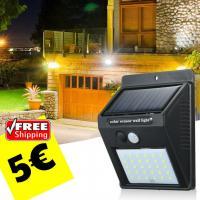 SOLAR LIGHT 30LED PIR Motion 5€ versandkostenfrei
