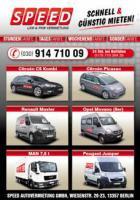 Foto 2 SPEED AUTOVERMIETUNG - Tolle Mietwagen zu günstigen Preisen - ab 4,99 €
