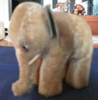 STEIFF: Kleiner Elefant ohne ID's