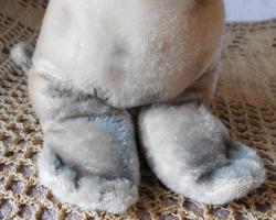 Foto 2 STEIFF Seehund Robbe ''Robby'' 18 cm komplett Holzwolle ohne Kennung