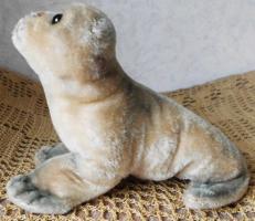 Foto 4 STEIFF Seehund Robbe ''Robby'' 18 cm komplett Holzwolle ohne Kennung