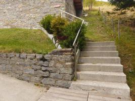 Zugang zum Chalet
