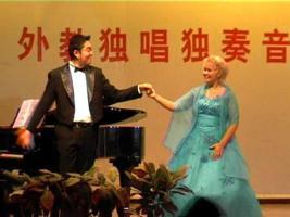 Opernsängerin Angelika Norwidat - Liederabende Konzertprogramm Oper bi