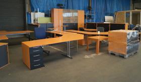 Samas Fleischer Büroeinrichtung 2 X Chefbüro Komplettbüro In Essen