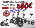 Samebike Electric Bike faltbar 450€ frei Haus