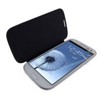 Samsung Galaxy S3 i9300 Schutztasche Hülle Chrome Blau Flip Case