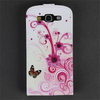 Samsung S3 Hülle Flipcase Cover Schmetterling