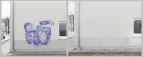 Foto 4 Sandstrahlen-Graffitientfernung