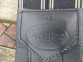 Sattelgurt Leder von Prestige 145 Länge