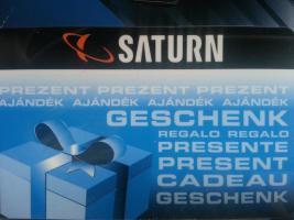 Saturn Gutschein im Wert von 25€ zu verkaufen