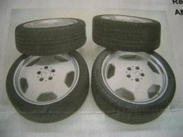 Satz AMG Alufelgen Original!!! Mercedes 8x18 u. 9x18 Bett poliert!!!!!!!!!