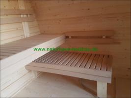 Foto 10 Sauna Pod und Camping Pod in massiver 58 mm Premium Wandstärke, viele Größen und Ausführungen, ..