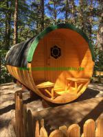 Foto 14 Sauna Pod und Camping Pod in massiver 58 mm Premium Wandstärke, viele Größen und Ausführungen, ..