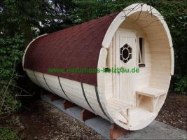 Foto 15 Sauna Pod und Camping Pod in massiver 58 mm Premium Wandstärke, viele Größen und Ausführungen, ..